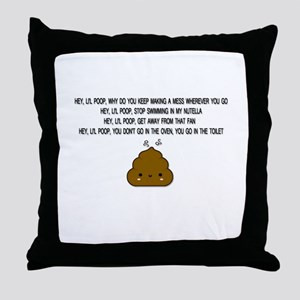 CUTIE POOH Throw Pillow