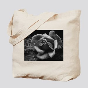 Ansel Adams Rose And Driftwood Tote Bag