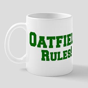 Oatfield Rules! Mug
