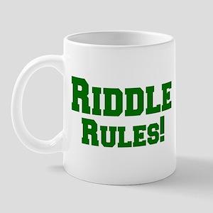 Riddle Rules! Mug