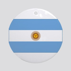 flag of Argentina Ornament (Round)