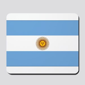 flag of Argentina Mousepad