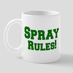 Spray Rules! Mug
