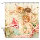 Cherubs Shower Curtains