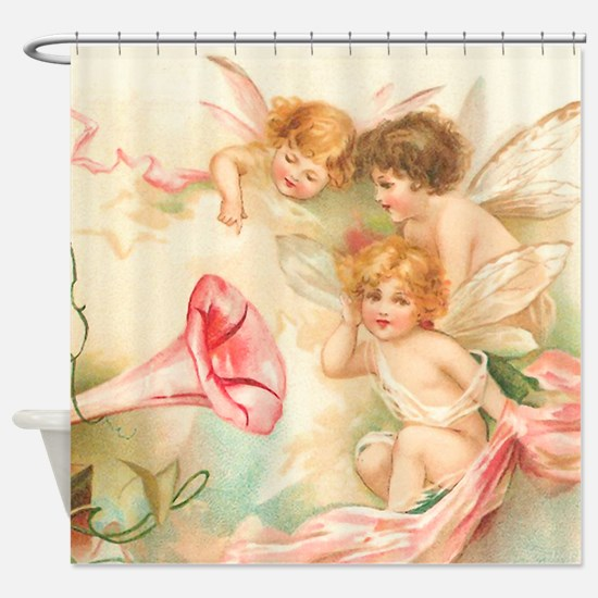 Cupid Angel I Shower Curtain
