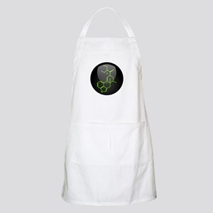 LSD molecule button Apron