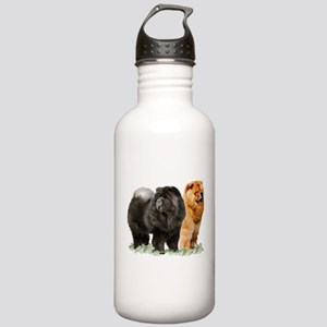 red and black chows Stainless Water Bottle 1.0L