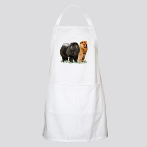 red and black chows Apron