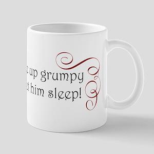 grumpy swirl Mug