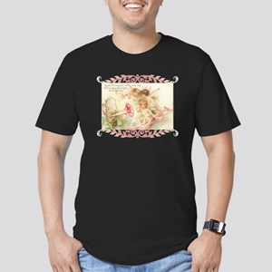 Cupid Angel I Men's Fitted T-Shirt (dark)
