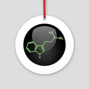 DMT Molecule Ornament (Round)