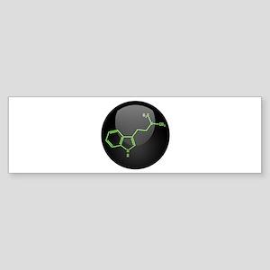 DMT Molecule Sticker (Bumper)