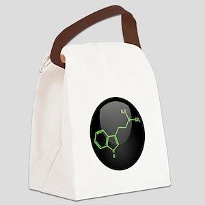 DMT Molecule Canvas Lunch Bag