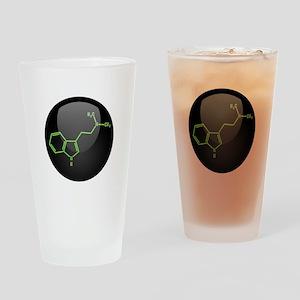 DMT Molecule Drinking Glass