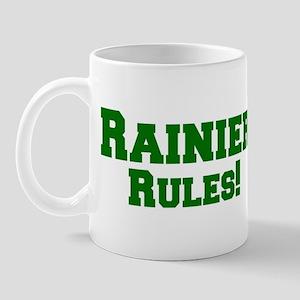 Rainier Rules! Mug