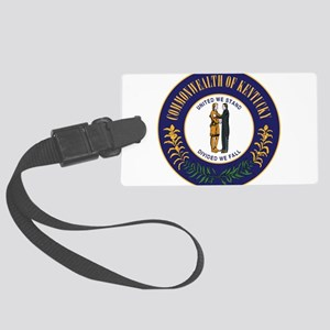 Seal of Kentucky Large Luggage Tag