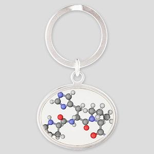 Thyrotrophin-releasing hormone molecule - Oval Key