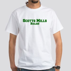 Scotts Mills Rules! White T-Shirt