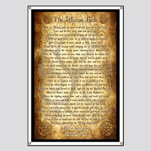 Wiccan Rede Banner