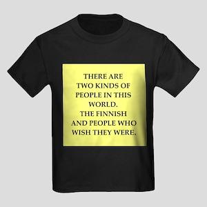 finland Kids Dark T-Shirt