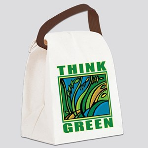 Think Green Canvas Lunch Bag