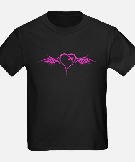 Emo Flying Heart T