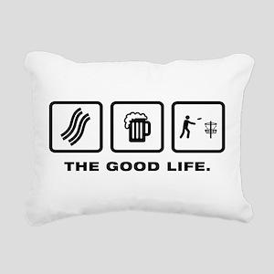 Disc Golf Rectangular Canvas Pillow