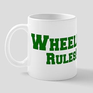 Wheeler Rules! Mug