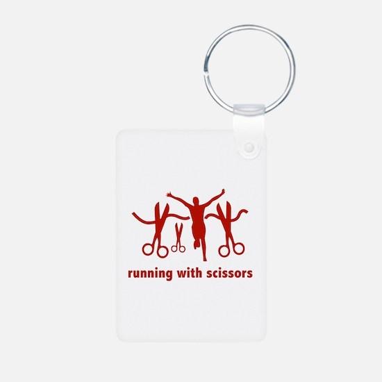Running With Scissors Keychains
