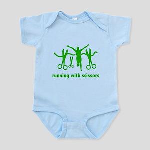 Running With Scissors Infant Bodysuit
