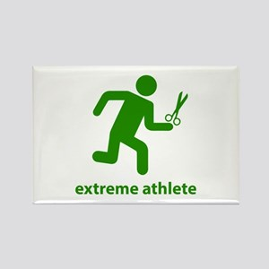 Extreme Athlete Rectangle Magnet