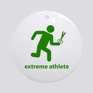 Extreme Athlete Ornament (Round)