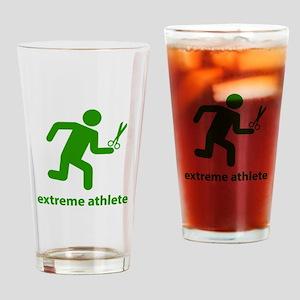 Extreme Athlete Drinking Glass