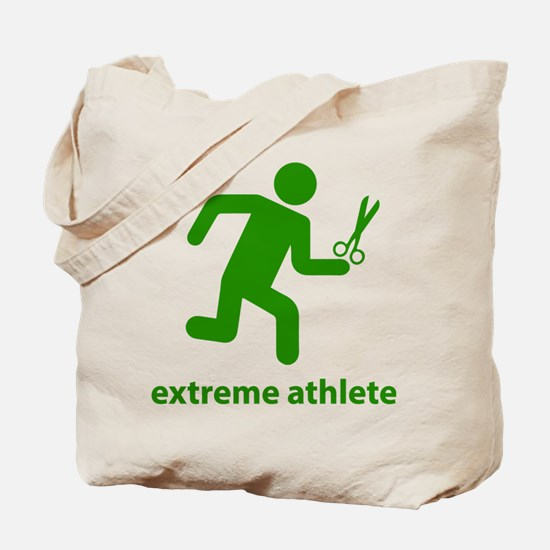 Extreme Athlete Tote Bag