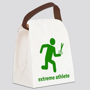Extreme Athlete Canvas Lunch Bag