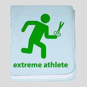 Extreme Athlete baby blanket