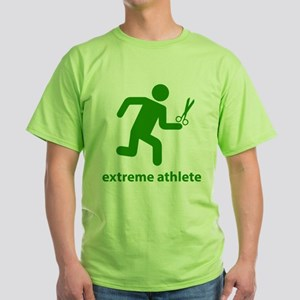 Extreme Athlete Green T-Shirt