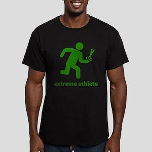 Extreme Athlete Men's Fitted T-Shirt (dark)