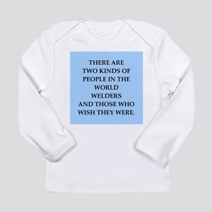 welder Long Sleeve Infant T-Shirt