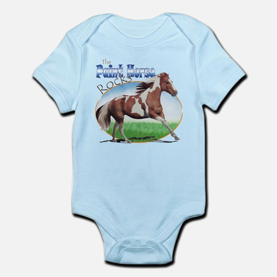 Paint Horse Rocks Infant Bodysuit