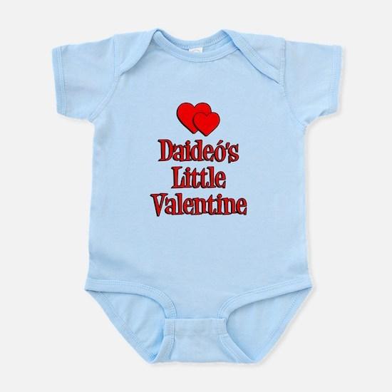 Daideos Little Valentine Infant Bodysuit