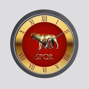 Imperial Rome Wall Clock