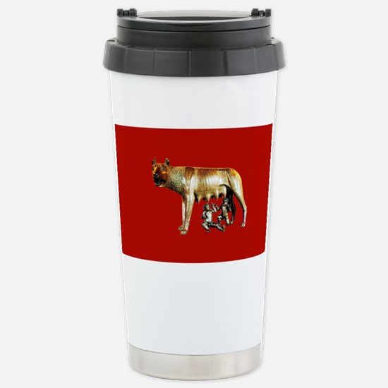Imperial Rome Stainless Steel Travel Mug