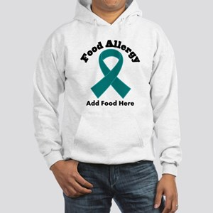 Personalized Food Allergy Hooded Sweatshirt