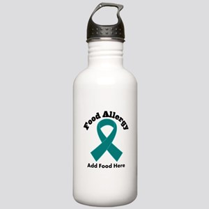 Personalized Food Allergy Stainless Water Bottle 1