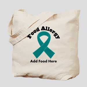 Personalized Food Allergy Tote Bag