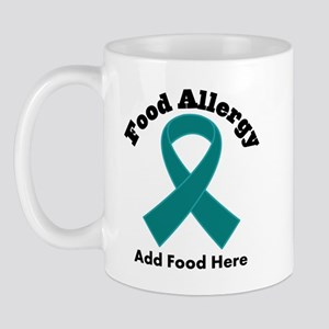 Personalized Food Allergy Mug