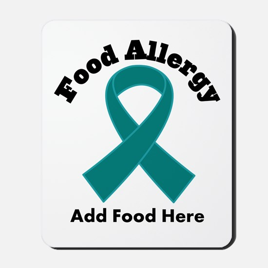 Personalized Food Allergy Mousepad