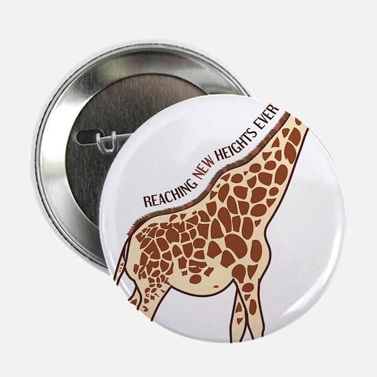 """New Heights Giraffe 2.25"""" Button"""