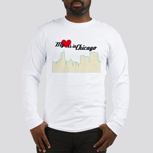 Heart in Chicago Long Sleeve T-Shirt